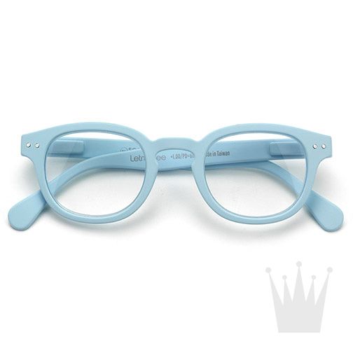 639ff6efe Premium Stuff: Okuliare na čítanie - LetmeSee #C Pastel Blue Soft